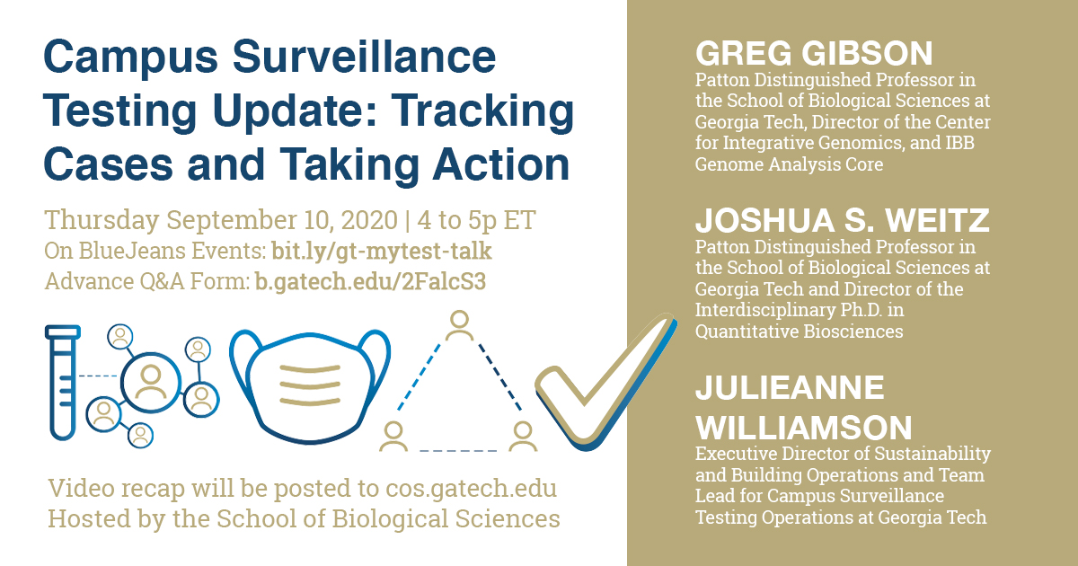 Campus Surveillance Testing Update: Tracking Cases and Taking Action