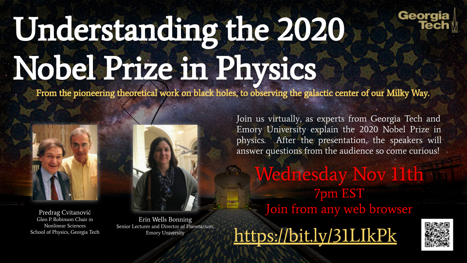 Understanding the 2020 Nobel Prize in Physics