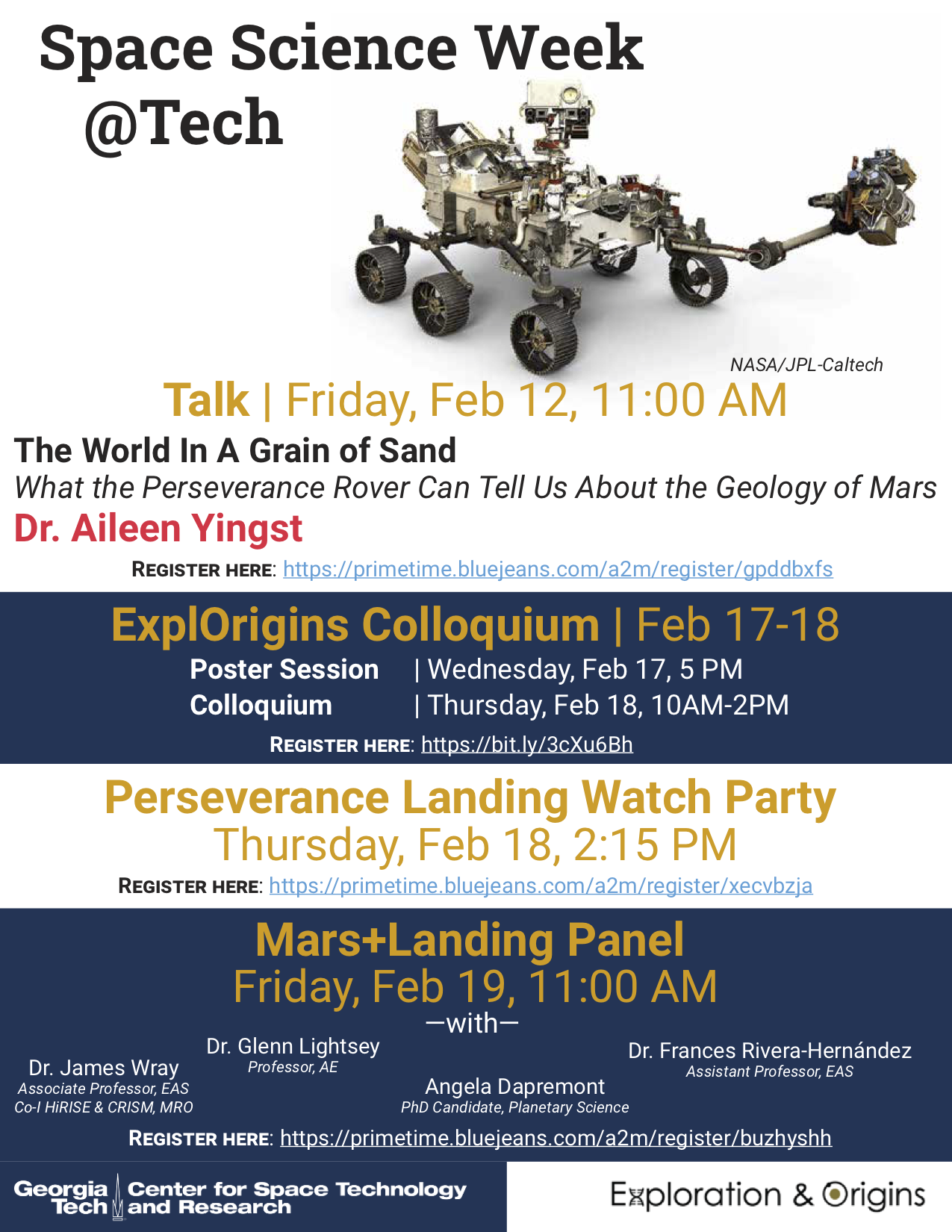 Space Science Week at Tech