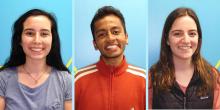 Kathryn McCarthy, Shivan Mittal, and Gigi Pavur